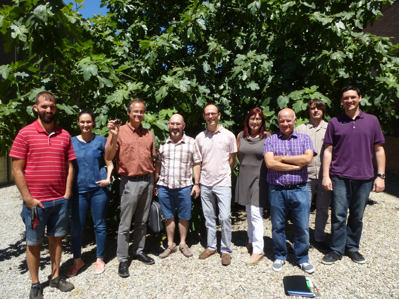 WP2 Leader Toni Glieder TUG visits UAB